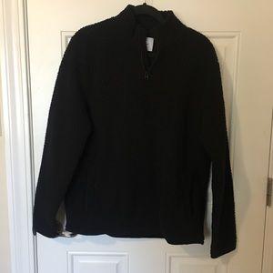 black quarter zip